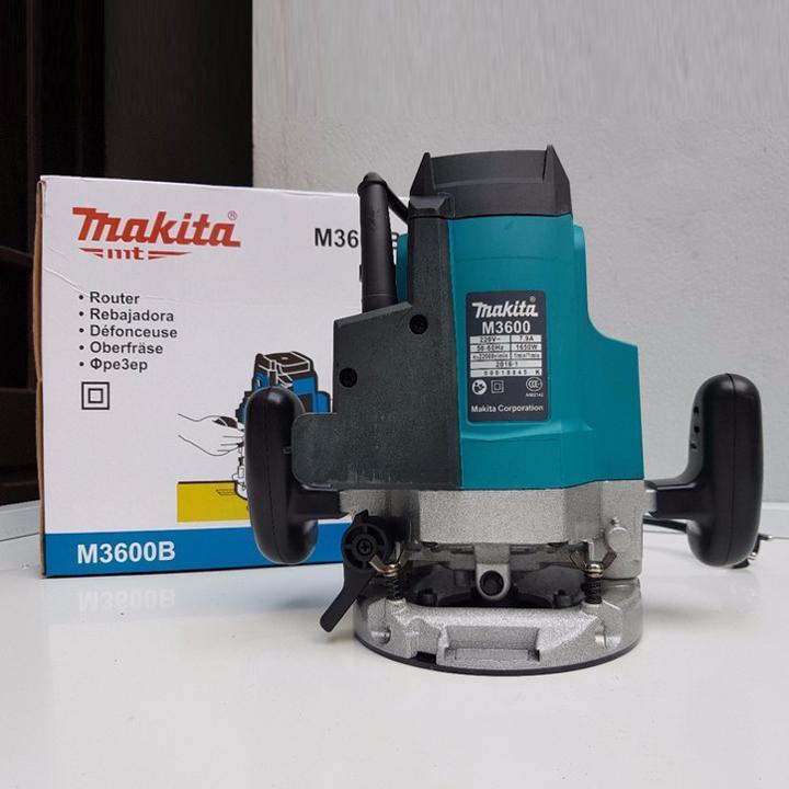 Hình ảnh máy phay gỗ 1650W makita - M3600B - máy soi mộng gỗ makita