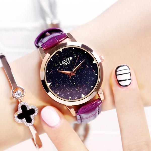 [Taobao] Women S Korean-Style Fashion Car Hire Rhinestone Quartz Watch Malaysia