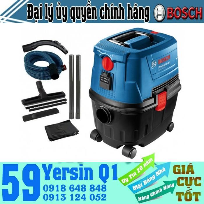 1100W Máy hút bụi khô và ướt Bosch GAS 15 PS