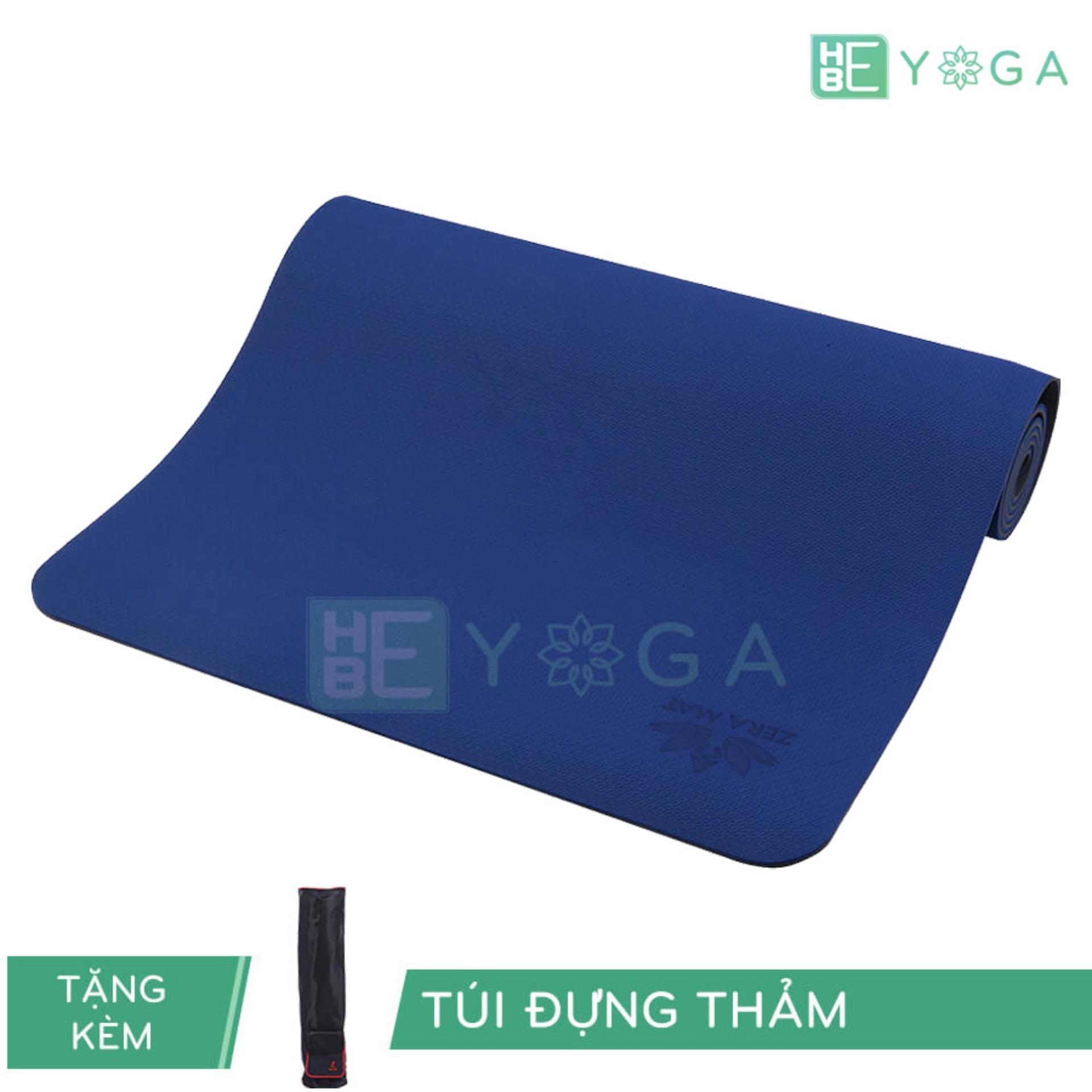 Mua Thảm Tập Yoga Zera Mats 8Mm 1 Lớp Kem Tui Đựng Rẻ