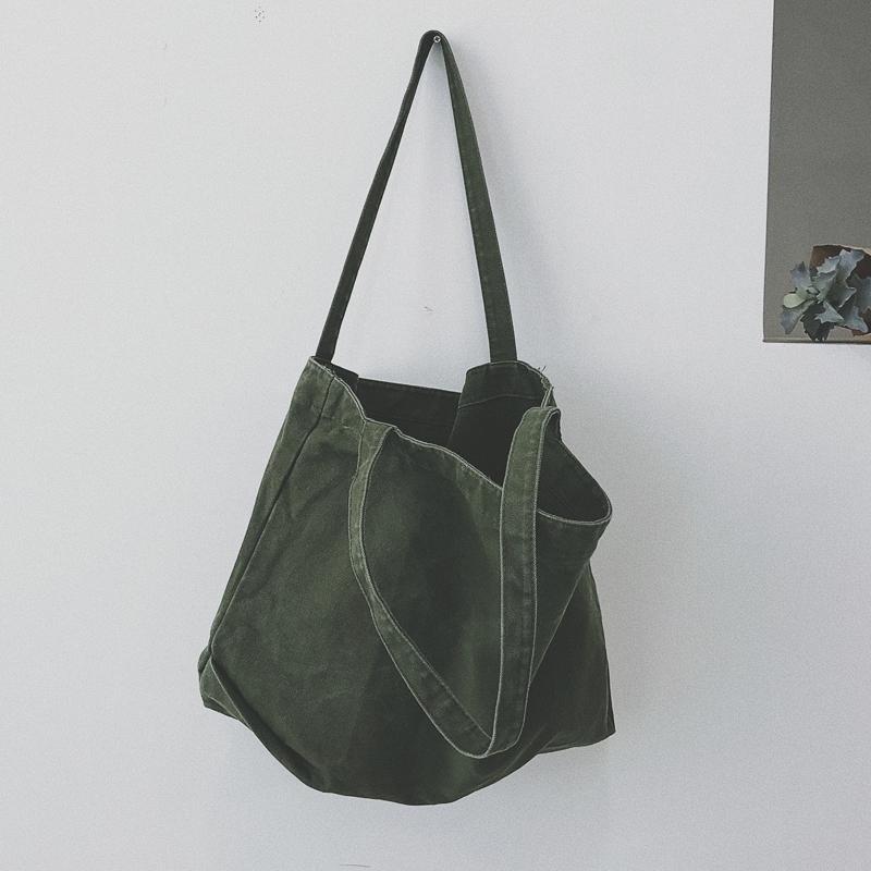 กระเป๋าเป้ นักเรียน ผู้หญิง วัยรุ่น ตาก เก๋กระเป๋าผ้าใบสไตล์ญี่ปุ่นสไตล์เกาหลีออลจังนักเรียนหญิงกระเป๋าสะพายไหล่สไตล์นักเรียนวรรณกรรมถุงผ้า INS เสื้อผ้าแฟชั่น เสื้อผ้าแฟชั่น กระเป๋าถือ