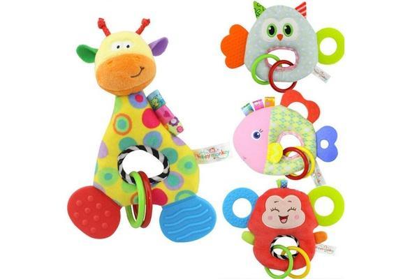 Hình ảnh Đồ chơi tập cầm nắm,gặm nướu cho bé(3 tháng-2 tuổi)