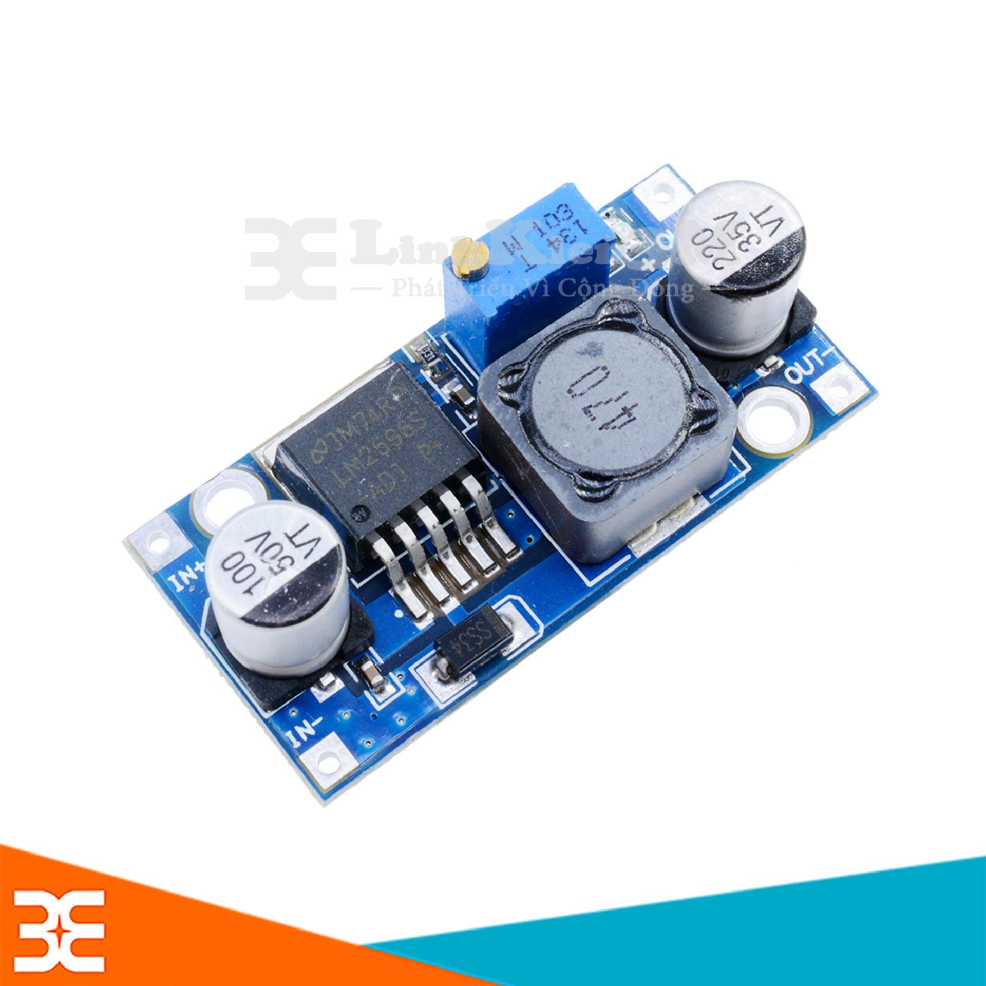 Hình ảnh Module LM2596 3A ADJ ( điều chỉnh hạ áp)