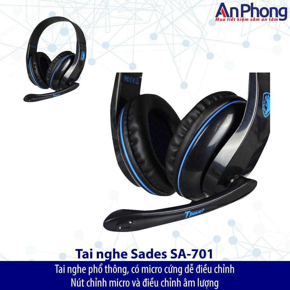 Tai Nghe Sades Chnh Hng Gi Cc Sc T Power Sa 701 Gaming Headset