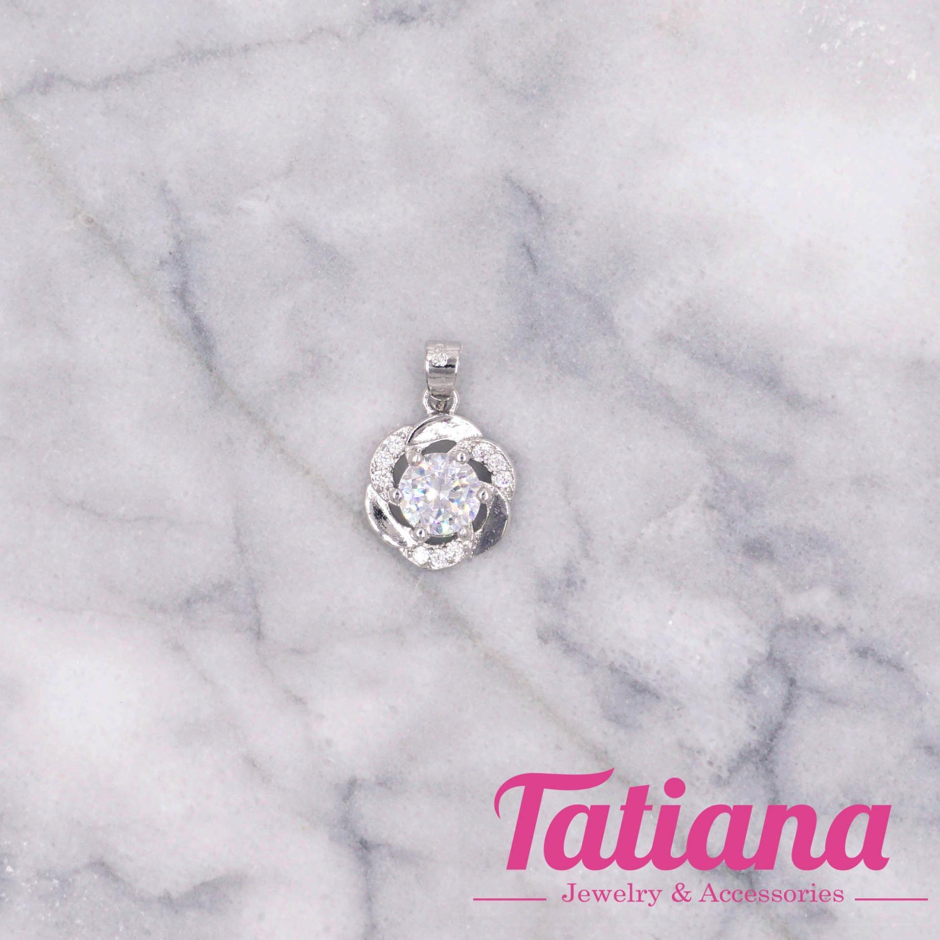 Mua Day Chuyền Hoa Đa Tatiana Db2600 Bạc Tatiana Trực Tuyến