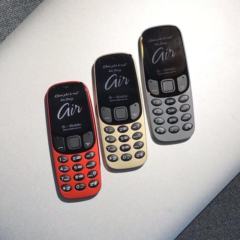 Điện thoại Smobile Air kết nối Bluetooth call với tất cả các smartphone dùng IOS hay Android
