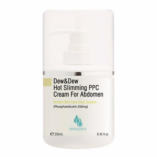 KEM TAN MỠ VÙNG EO DEW&DEW HOT SLIMMING PPC CREAM FOR ABDOMEN