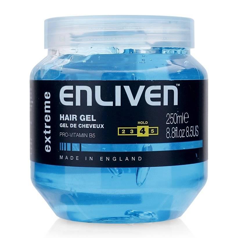 Gel vuốt tóc giữ nếp cứng Enliven Hair Gel Extreme độ cứng 4/5 250ml