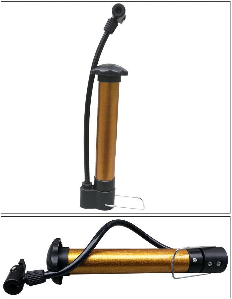 Hình ảnh Bơm mini cầm tay, bơm xe đạp, xe máy, bóng