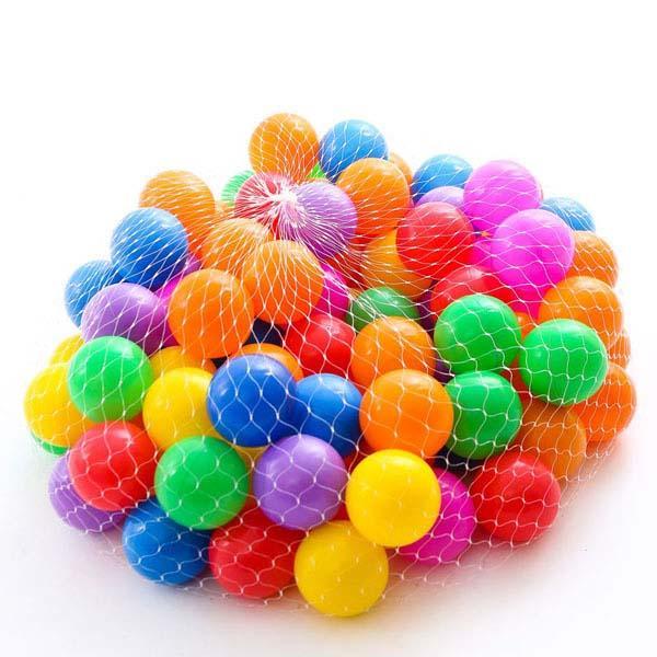 Hình ảnh Túi 100 bóng cho bé thảo sức vui chơi