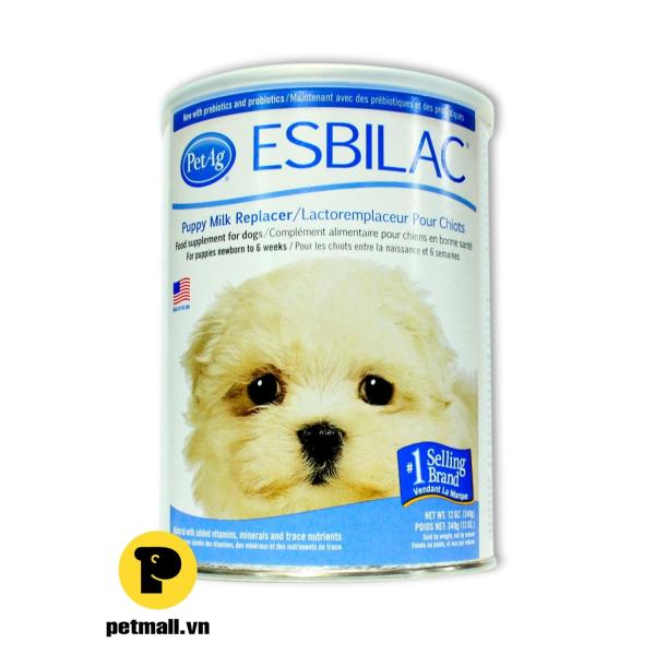 Sữa cho Chó sơ sinh ESBILAC 340g (nhập USA)