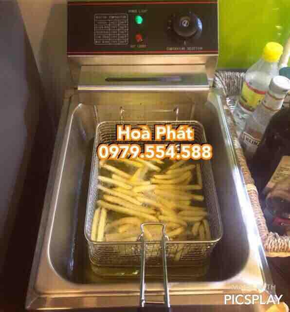 Hình ảnh Bếp chiên nhúng điện chiên rán khoai tây