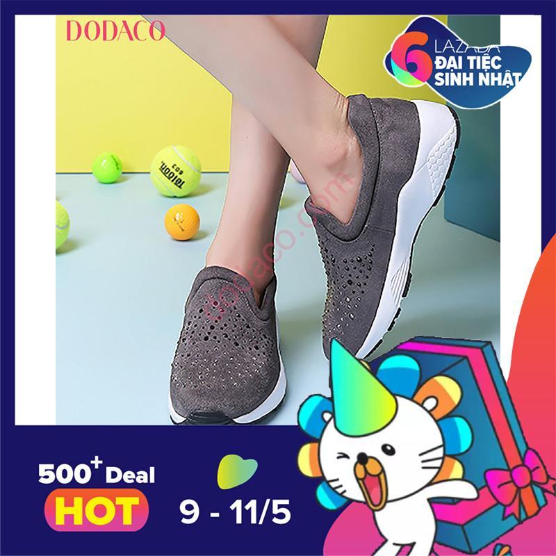 Giá Bán Giay Sneaker Nữ Giay Thể Thao Nữ Thời Trang Nữ Dodaco Ddc3028 Xam Trực Tuyến Bắc Ninh