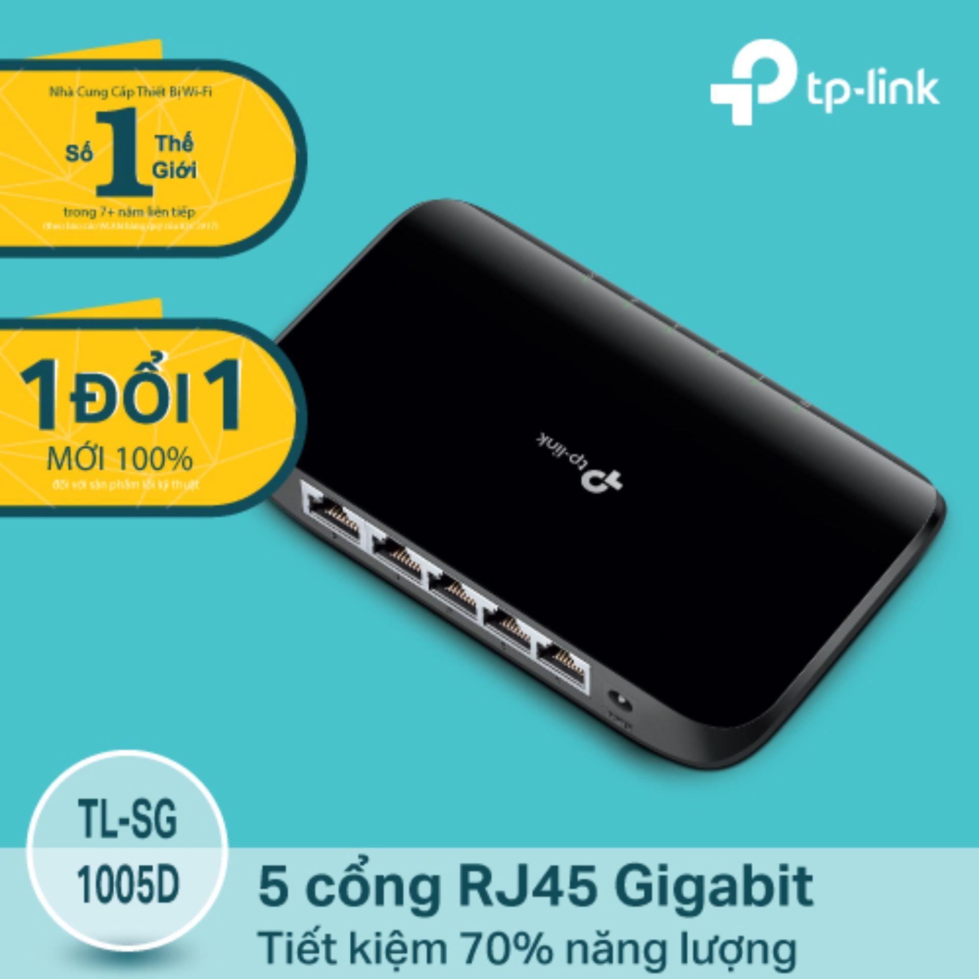 Mua Tp Link Tl Sg1005D Switch Gigabit 5 Cổng Để Ban Trong Hồ Chí Minh