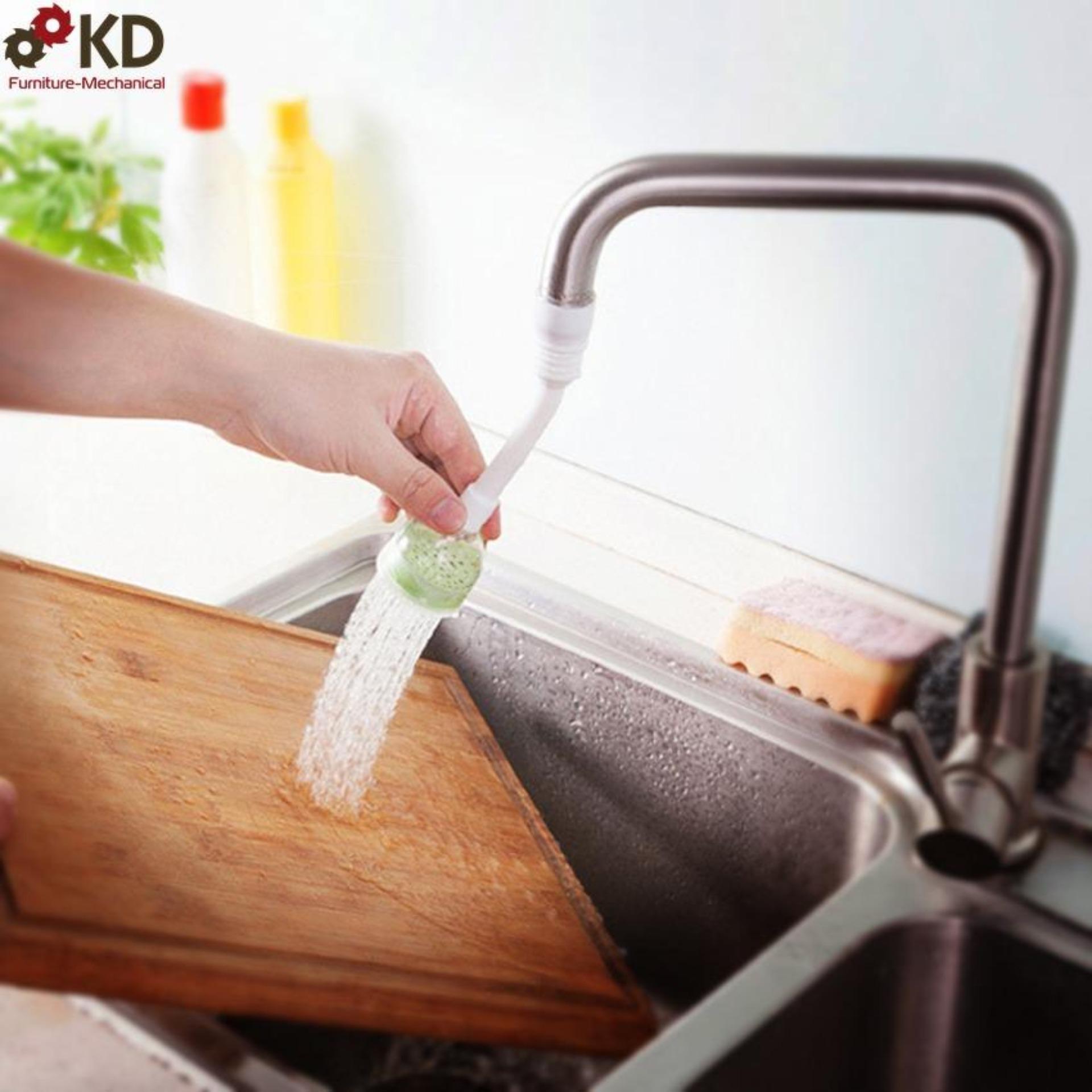 Hình ảnh Đầu vòi rửa chén xoay đa chiều 2 chế độ phun tiết kiệm nước
