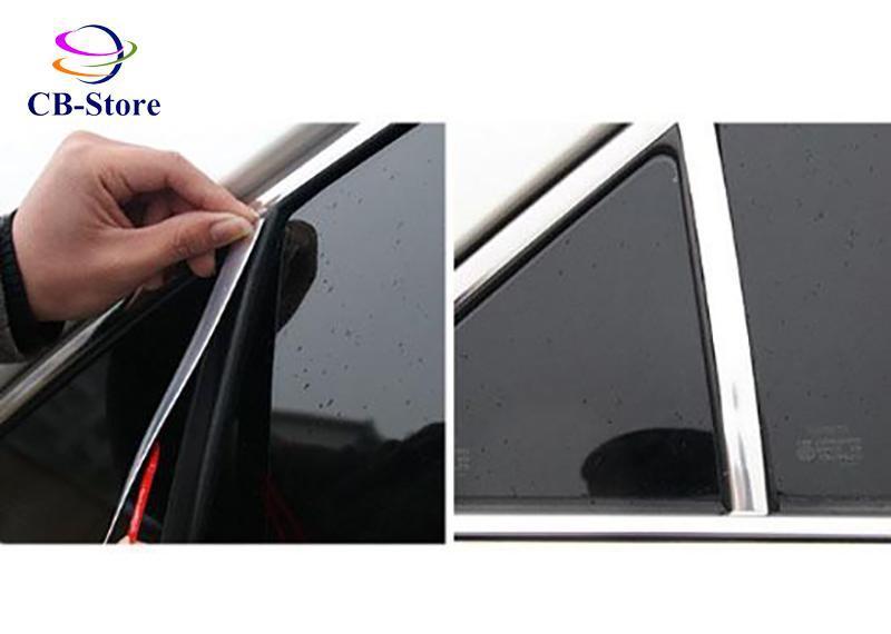 Cuộn nẹp trang trí ngoại thất ô tô mạ Crom (20mm dài 12m)