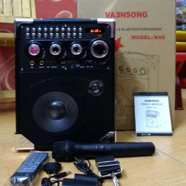 Ôn Tập Loa Keo Mini K66 Cực Hay Tặng Mic Khong Day