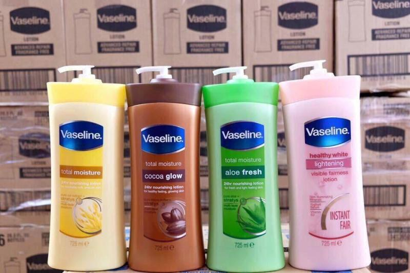 Sữa dưỡng thể Vasaline 725ml của Mỹ