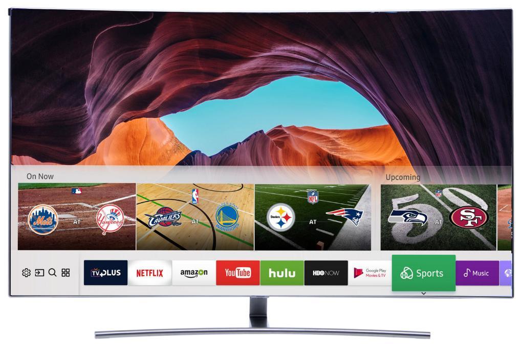 Hình ảnh Smart Tivi Cong QLED Samsung 55 inch QA55Q8C