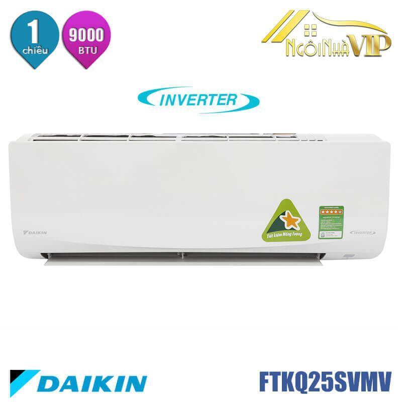 Bảng giá Máy lạnh/Điều hòa Daikin FTKQ25SVMV 1HP Inverter chỉ còn : 8.550.000đ