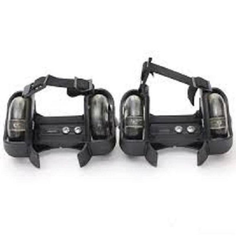 Phân phối Bánh trượt patin 2 bánh phát sáng- Flashing Roller ( đen)
