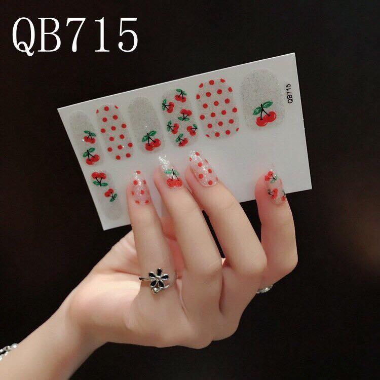Combo 3 tấm Sticker dán móng tay tốt nhất