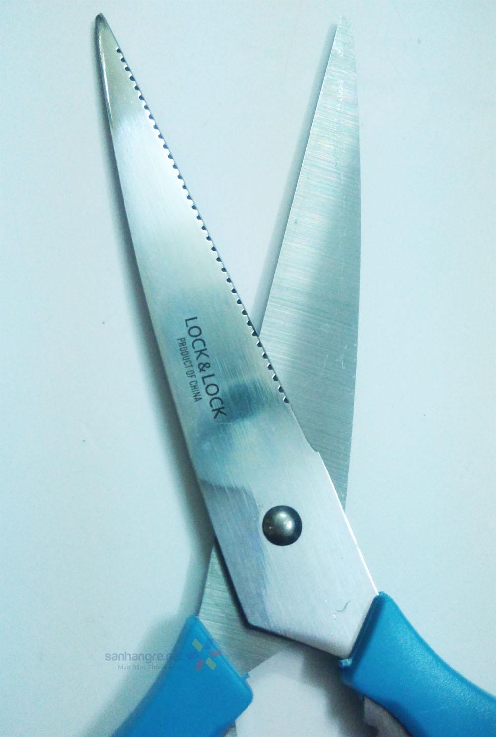 Kéo cắt thực phẩm đa năng Lock&lock F00097