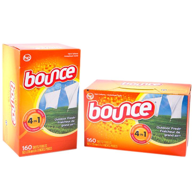 Combo 2 Hộp Giấy Thơm Bounce Usa Cho Quần Ao Co Mui Mỹ Bounce 4In1 Chiết Khấu 50