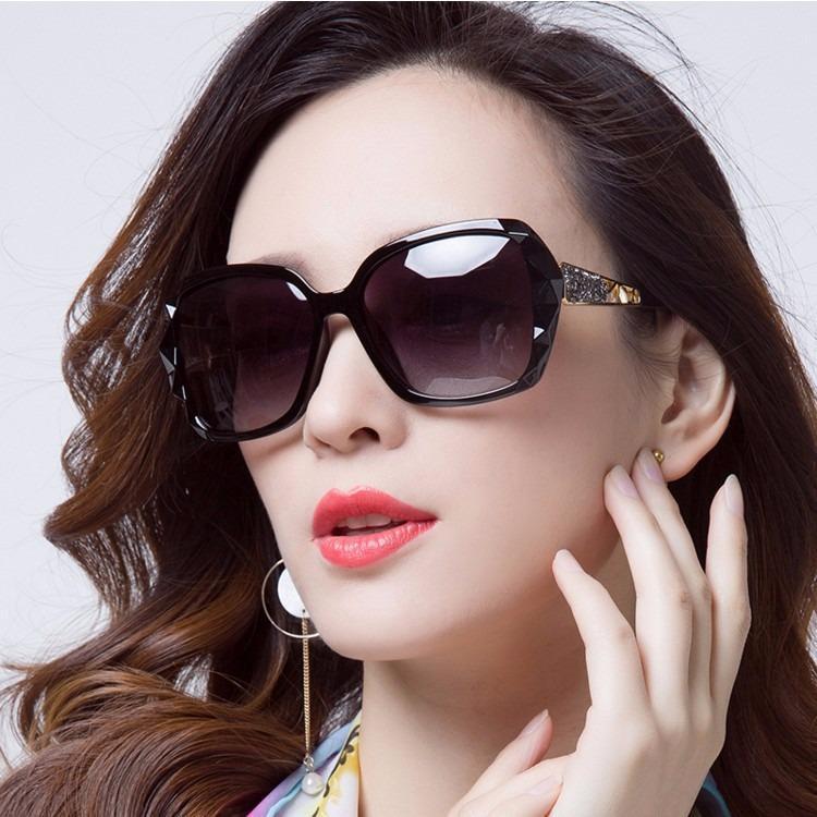 Hình ảnh kính mát thời trang nữ cao cấp.QL1776(Bao gồm hộp kính)Kiểu dàng,màu sắc,như hình