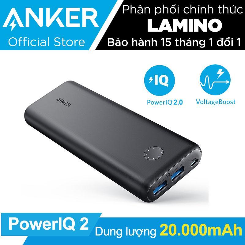 Giá Bán Pin Sạc Dự Phong Anker Powercore Ii 20000Mah Poweriq 2 18W Output Hang Phan Phối Chinh Thức Nguyên Anker