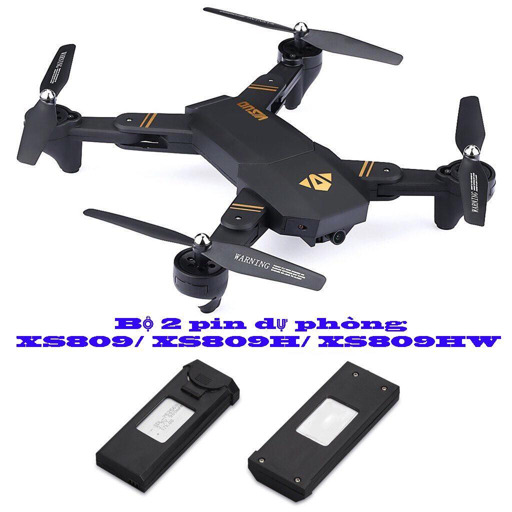Hình ảnh BỘ 2 PIN MÁY BAY VISUO XS809/ XS809W/ XS809HW