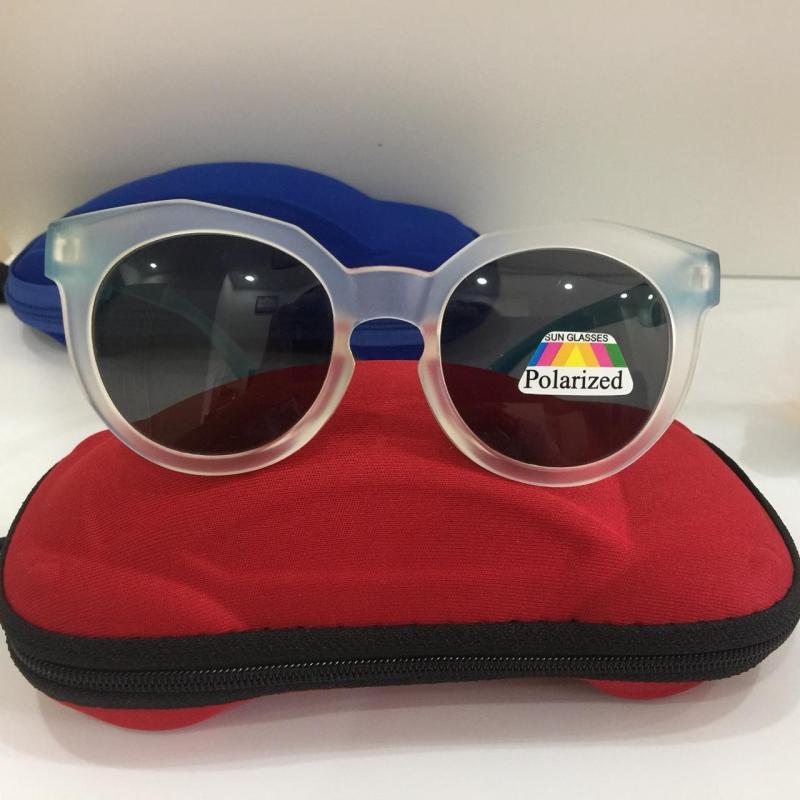Mua [BÁO ĐỘNG]  Bảo vệ mắt bé hình thù cute với bộ kính mắt dành cho trẻ em với mắt kính chống lóa và Tia UV A154-57 + Tặng kèm hộp đựng hình ô tô