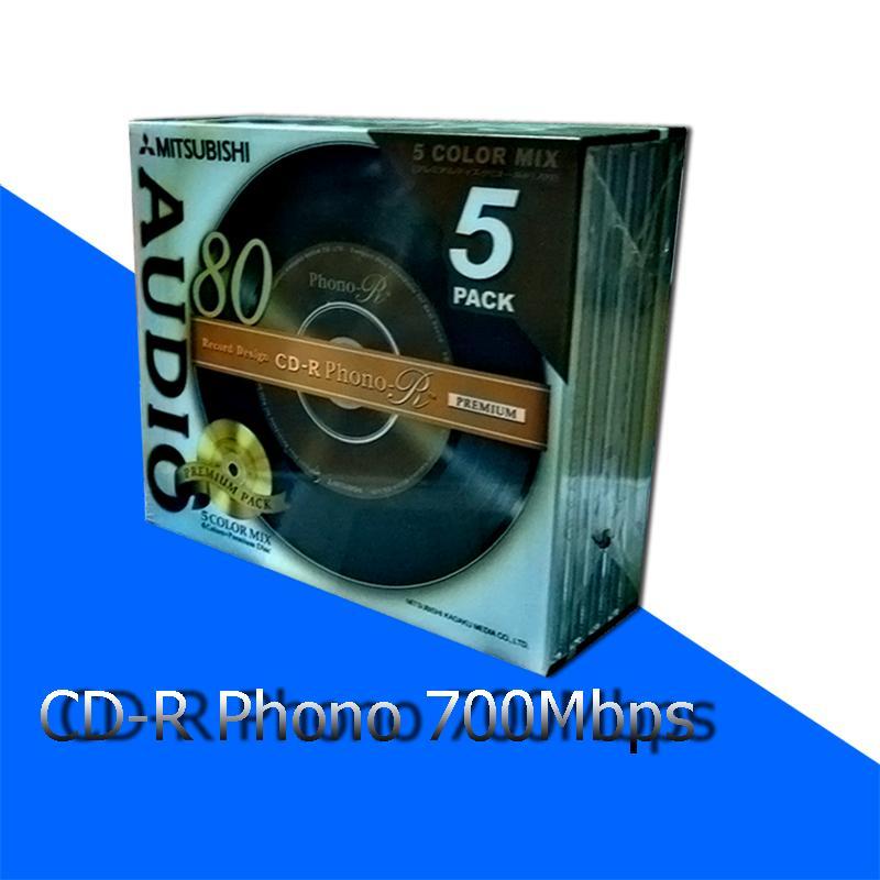 Hình ảnh Đĩa CD Phono-R 700Mbps Misubitshi type-80 Model - VMUR80PHM1 (1 chiếc)