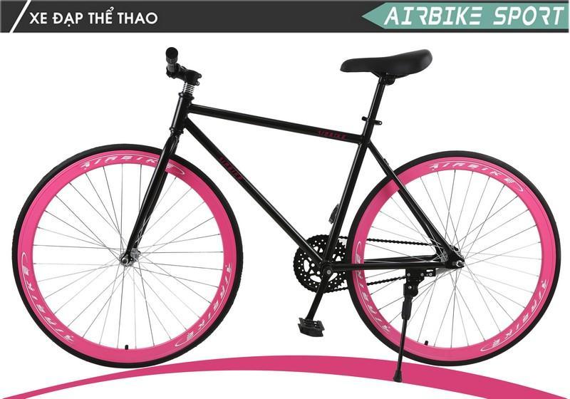 Xe đạp không phanh Airbike Sport (Hồng)