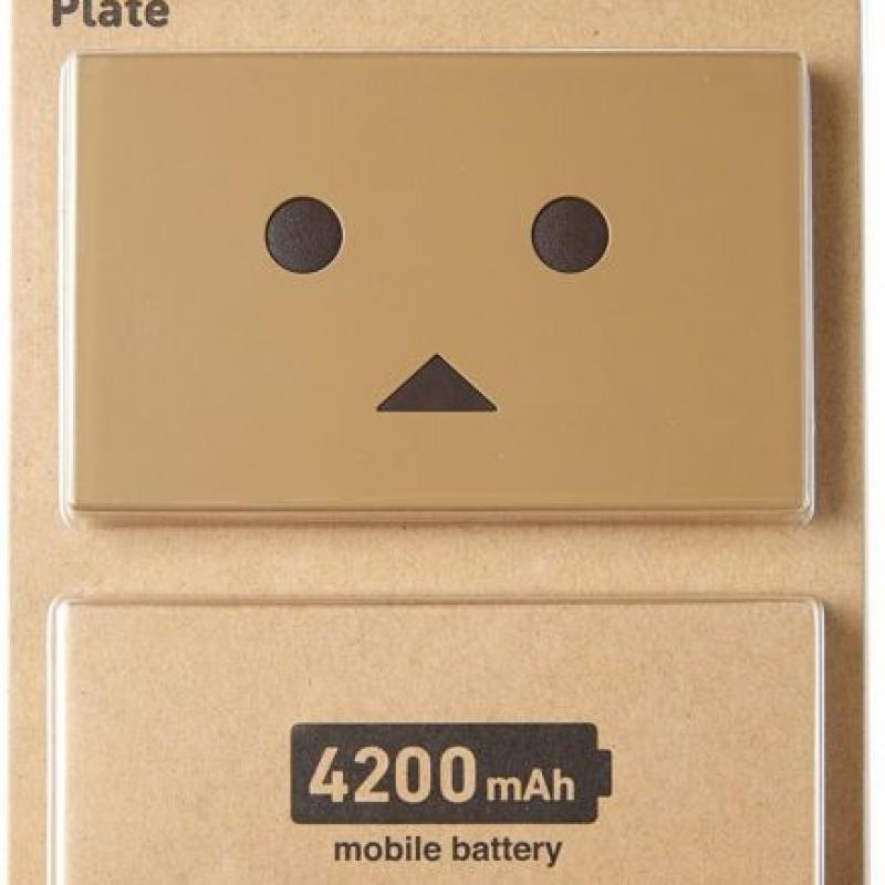 Ổ cứng di động Nhật Bản siêu bền đẹp dễ thương cheero Danboard Plate CHE-055 (4,200mAh) – Review và Đánh giá sản phẩm