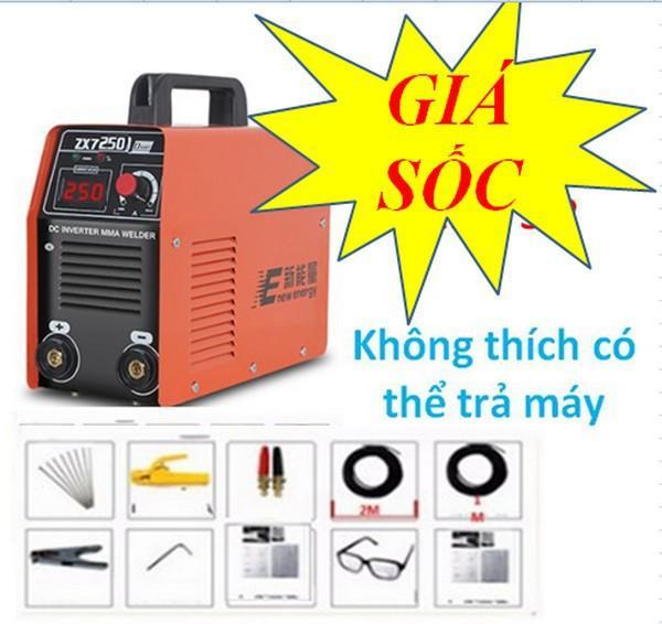 Máy hàn điện tử zx7-250a  may han  may han dien tu  may han que
