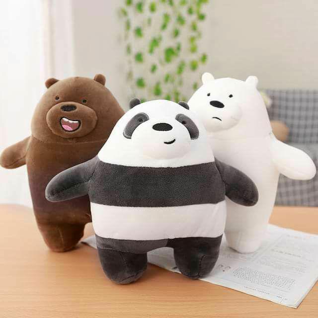 Hình ảnh Gấu bông We are bare bears Cao cấp