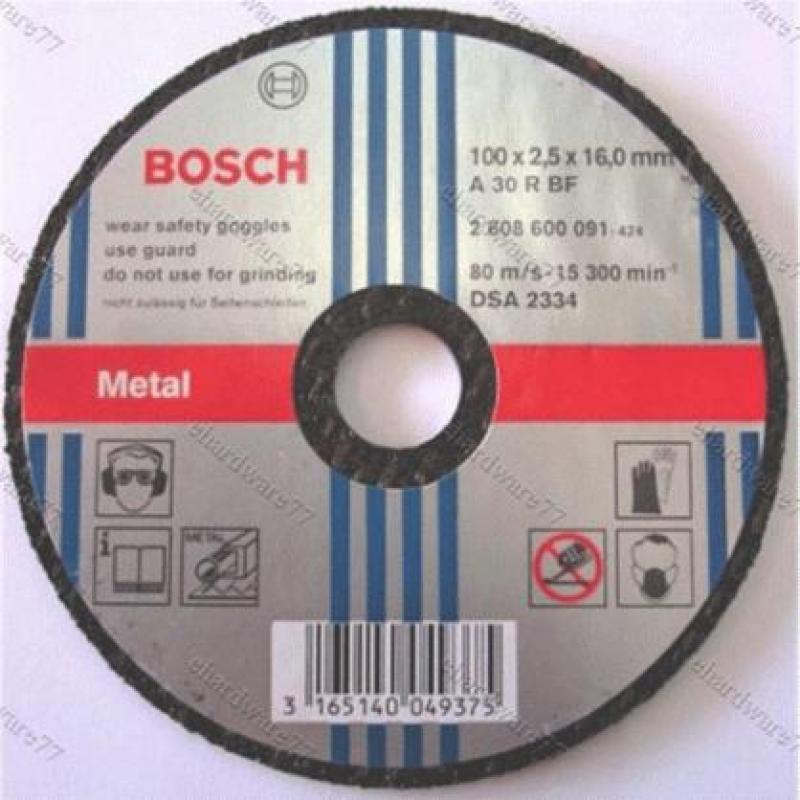 Đá cắt Inox Bosch 100x1.0x16mm - 2608607414