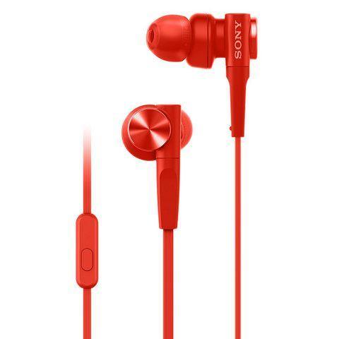 Tai nghe Sony MDR-XB55AP ( Đỏ)