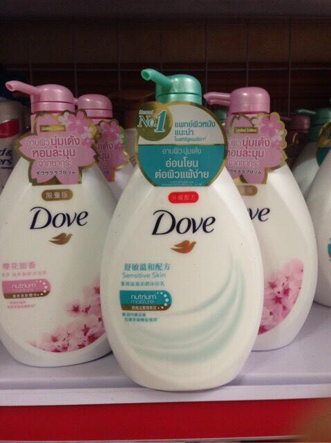 Hình ảnh Sữa tắm Dove, thể tích 720ml