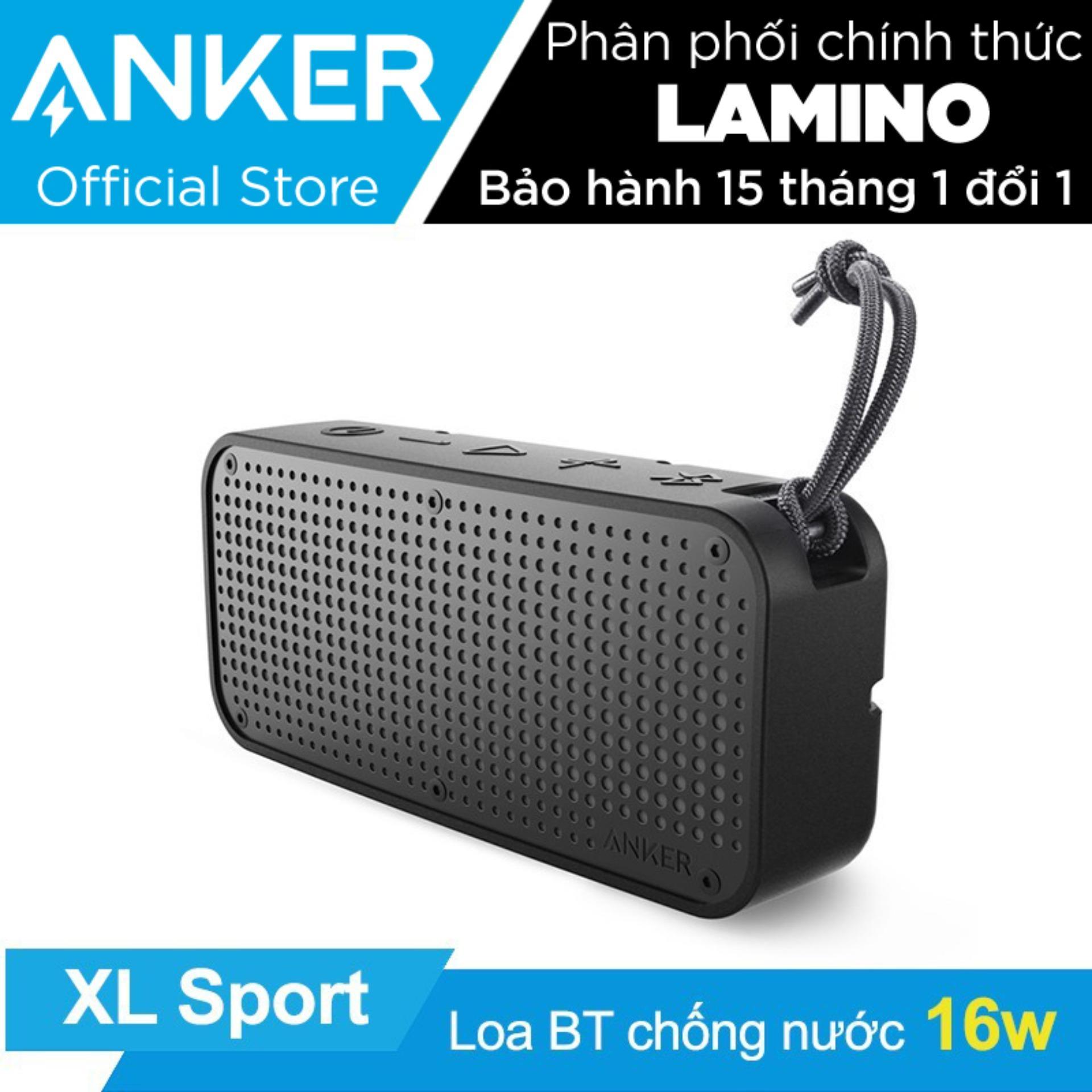 Bán Loa Di Động Bluetooth Chống Nước Anker Soundcore Sport Xl Đen Hang Phan Phối Chinh Thức Rẻ