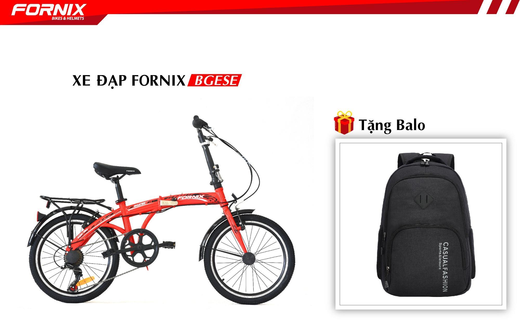 Xe đạp gấp hiệu FORNIX, mã BGESE