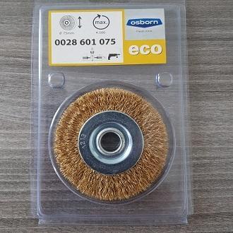 Bánh cước thép mạ đồng Osborn D200mm