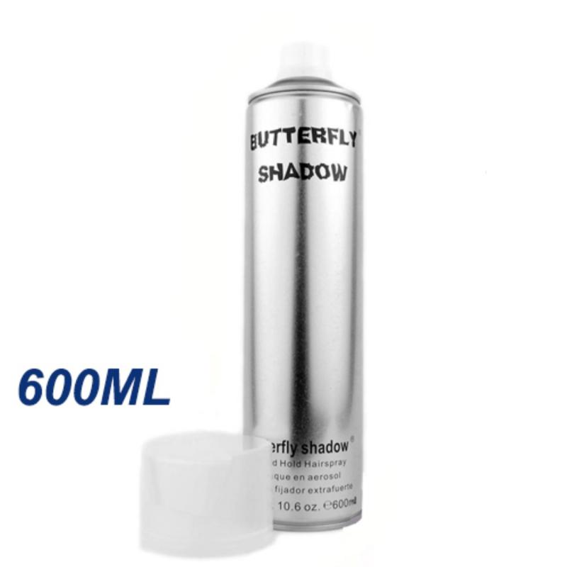Gôm xịt tạo kiểu tóc Butterfly Shadow 600ml