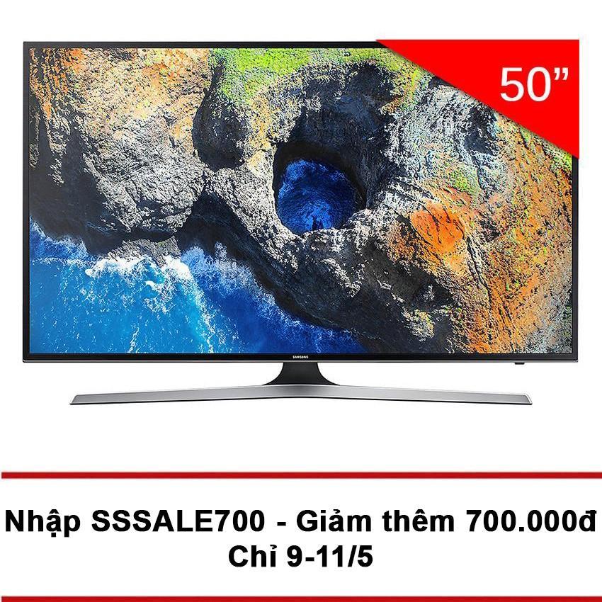 Bán Smart Tv Samsung Uhd 4K 50Inch 50Mu6153 Đen Hang Phan Phối Chinh Thức Samsung Người Bán Sỉ