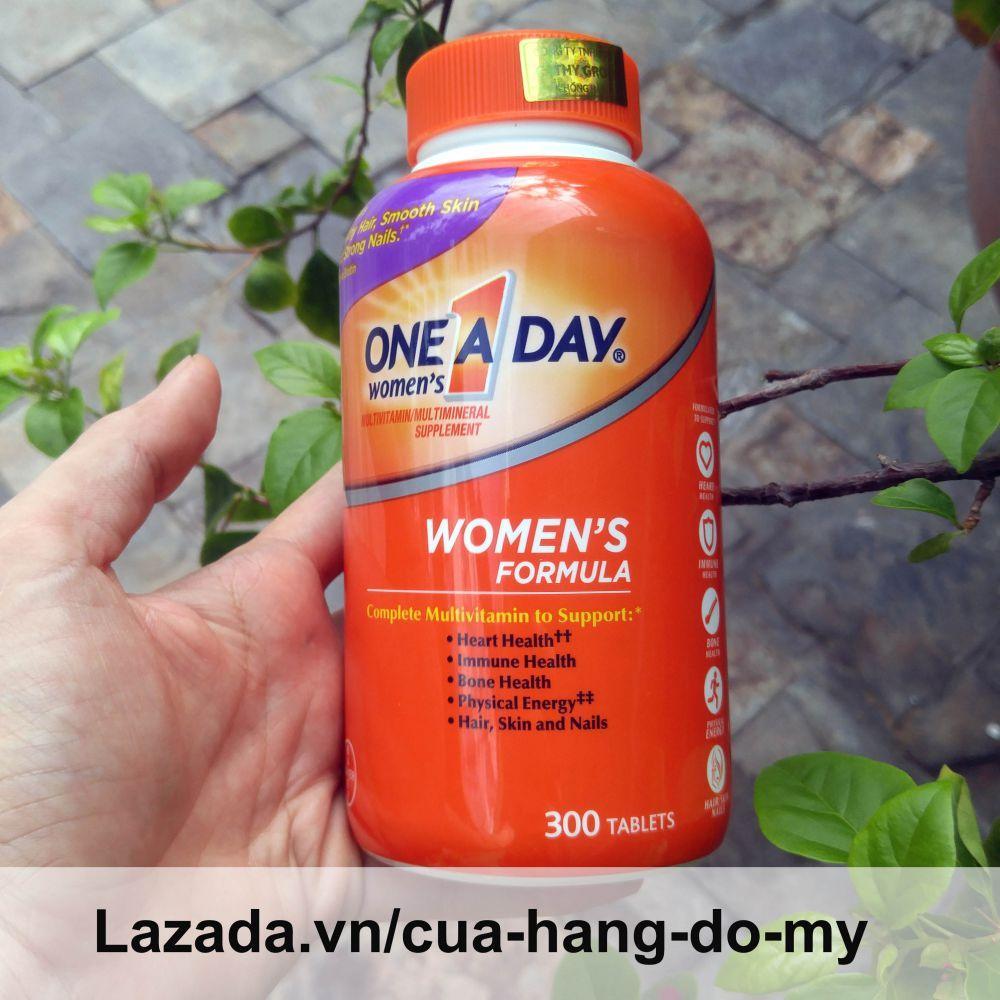 Hình ảnh Viên uống Vitamin Tổng Hợp Cho Nữ One A Day Women's Multivitamin Formula Của Mỹ, 300 viên, Mẫu mới
