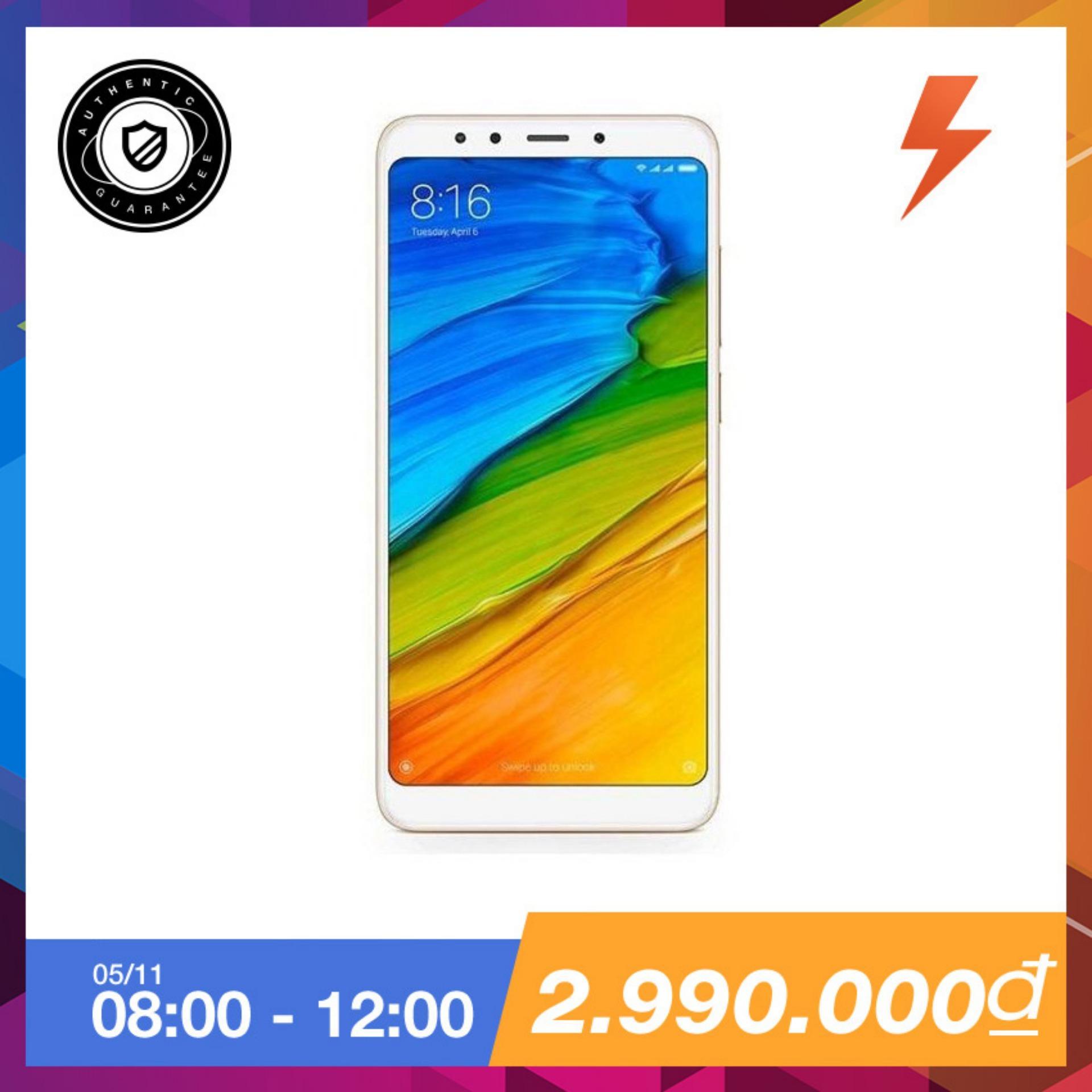 Xiaomi Redmi 5 32Gb Ram 3Gb Vang Hang Phan Phối Chinh Thức Xiaomi Chiết Khấu 40