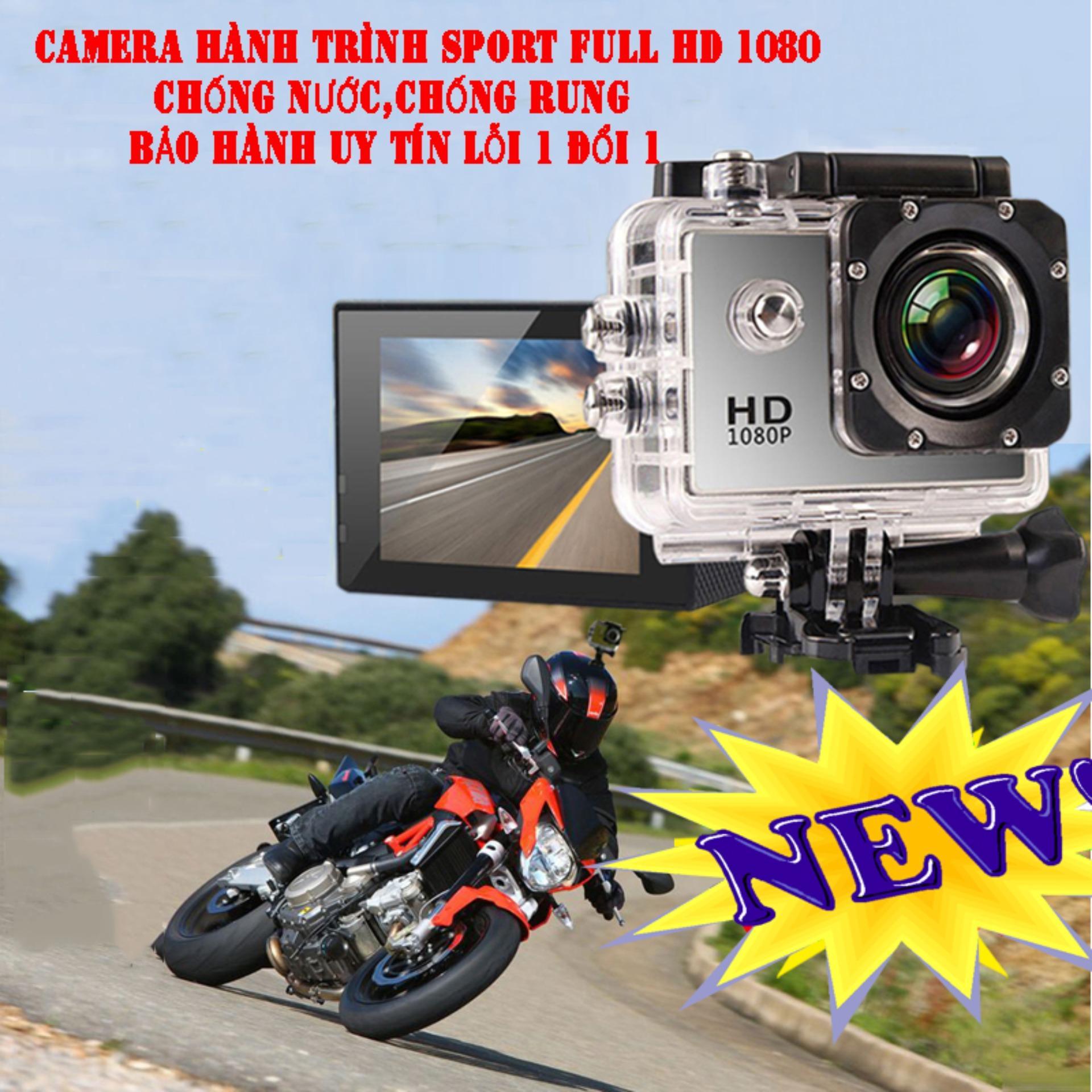 Hình ảnh Camera Hanh Trinh Tren Xe May, Mua Ngay Camera Hành Trình Sport Full Hd 1080 cao cấp, Chống Bụi Chống Nước Tốt, BH uy tín 1 đổi 1