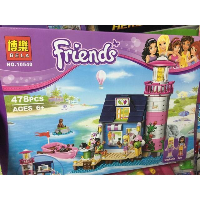 Lego friends 10540-ngôi nhà bên bờ biển