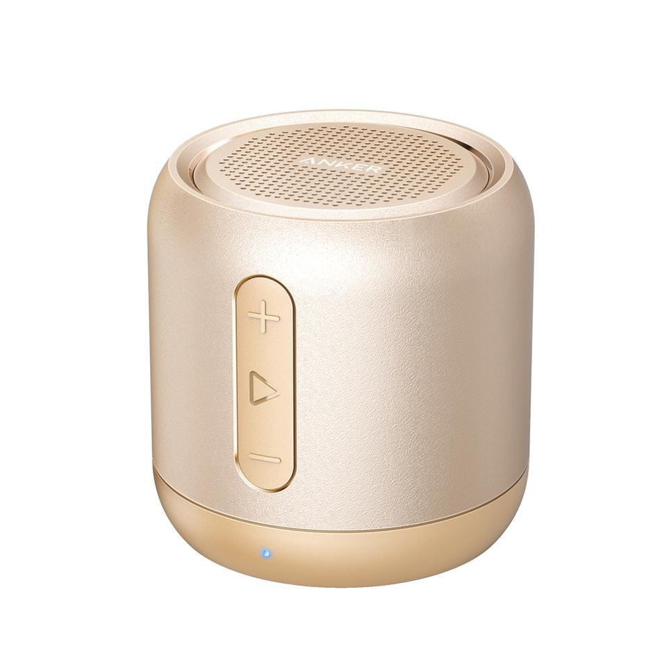Loa bluetooth di động ANKER SoundCore Mini Stereo Speaker (Gold)